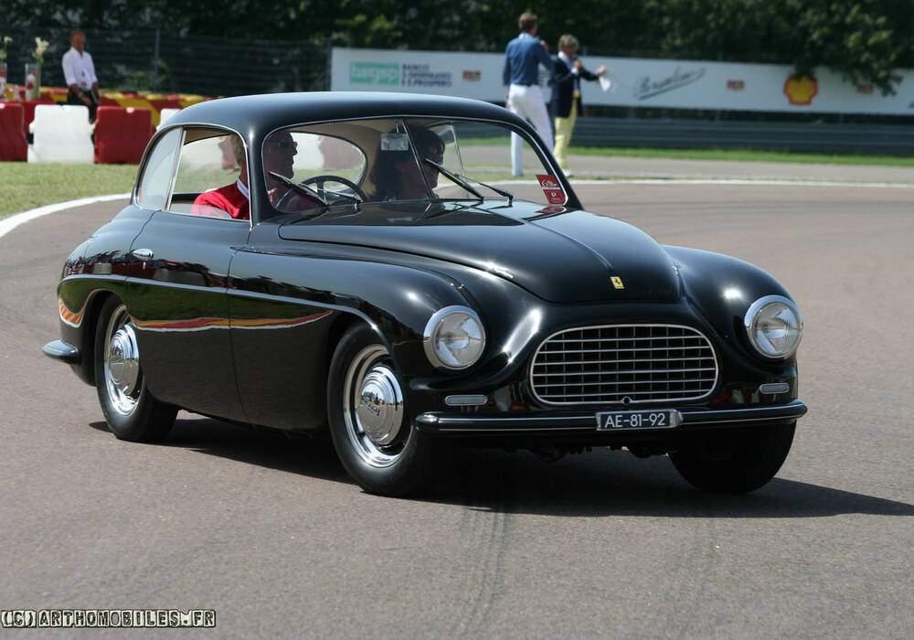 Fiche technique Ferrari 166 Inter (1948-1950)