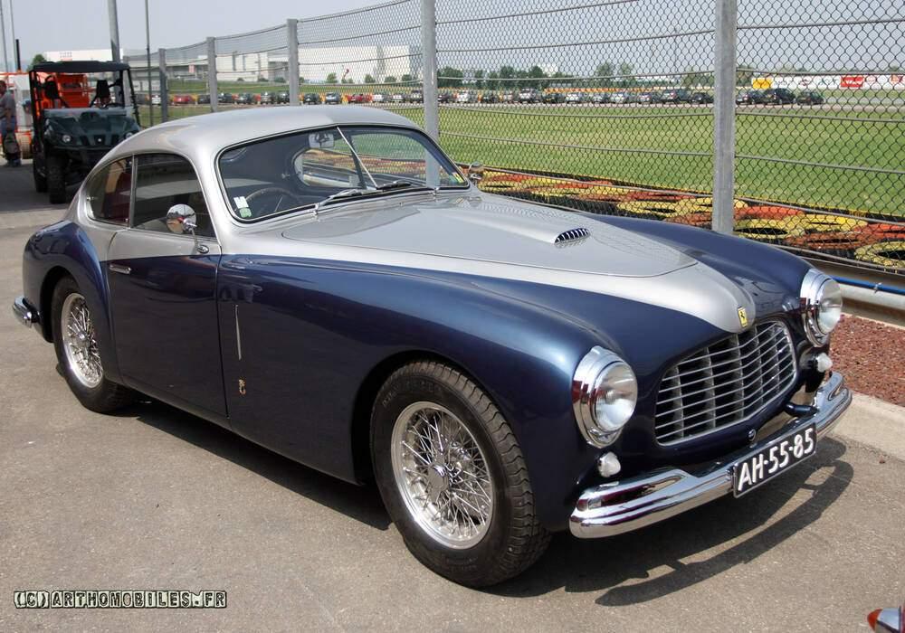 Fiche technique Ferrari 166 Inter Berlinetta (1948-1951)