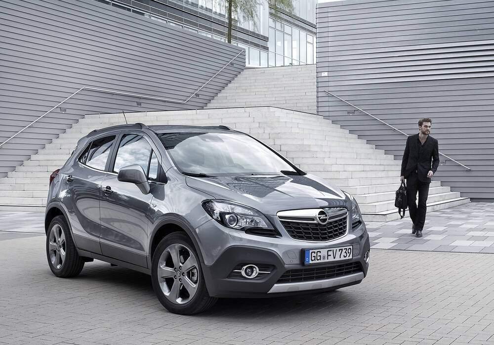 Fiche technique Opel Mokka 1.6 CDTi 110 (2015-2019)