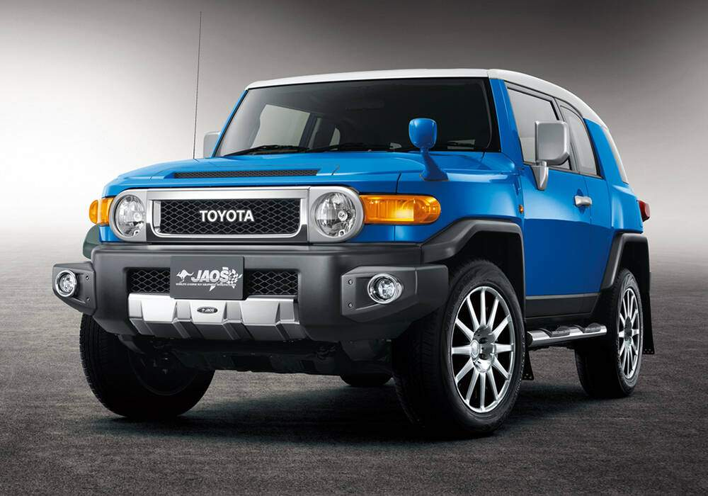 Fiche technique Modellista FJ Cruiser JAOS Selected (2011)