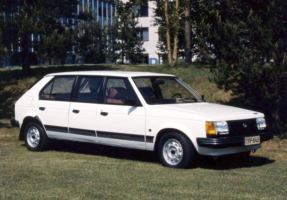 Fiche technique Talbot Horizon Valmet Automotive (1981)