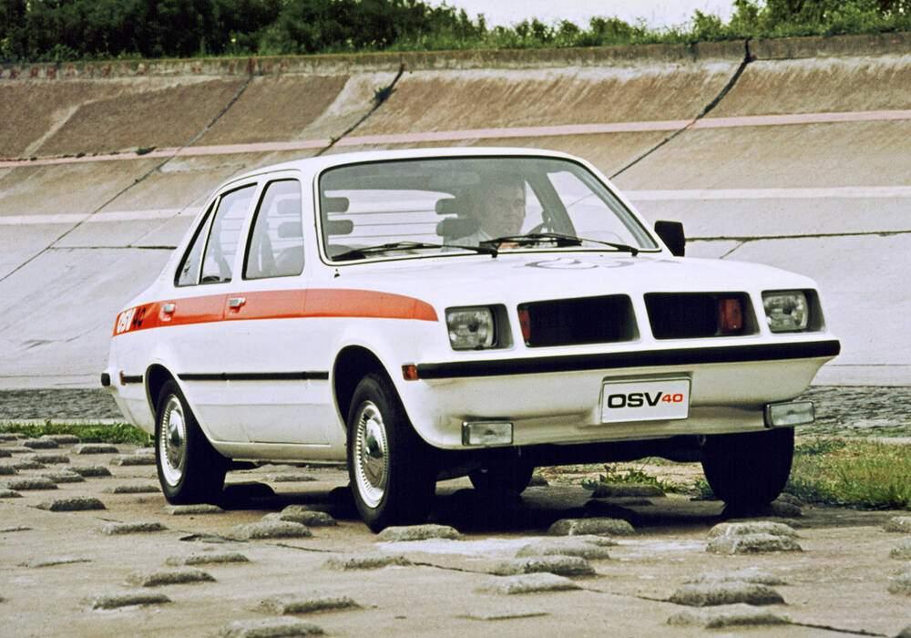 Fiche technique Opel OSV 40 Prototype (1974)