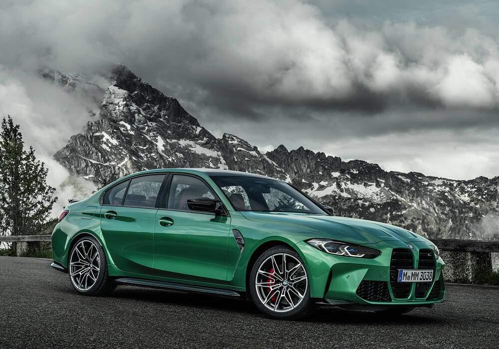 Fiche technique BMW M3 Compétition (G80) (2020)