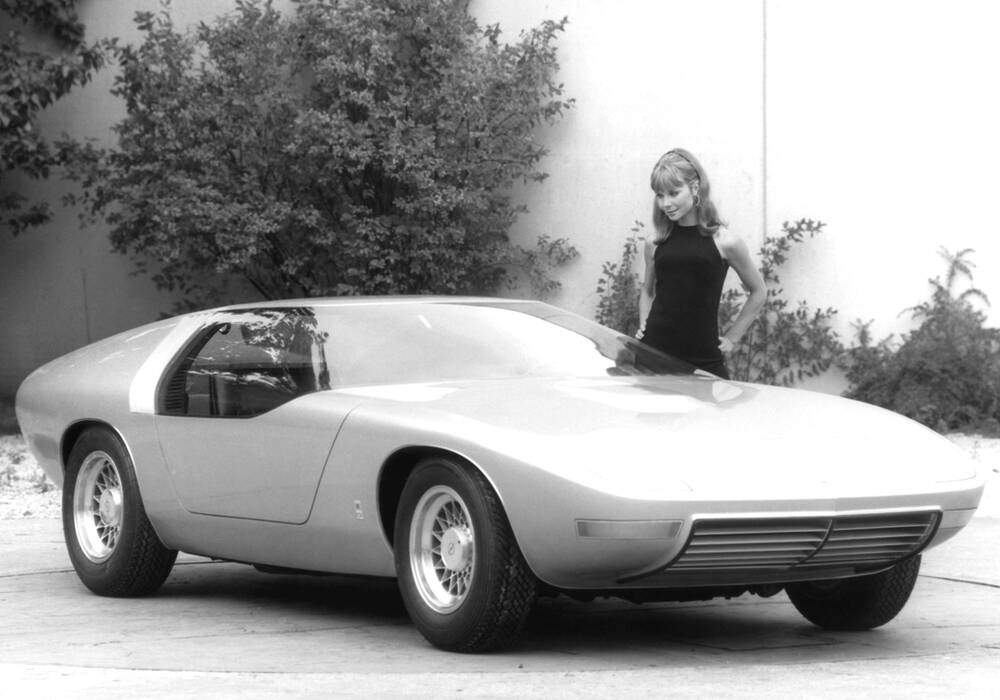 Fiche technique Opel CD Concept (1969)