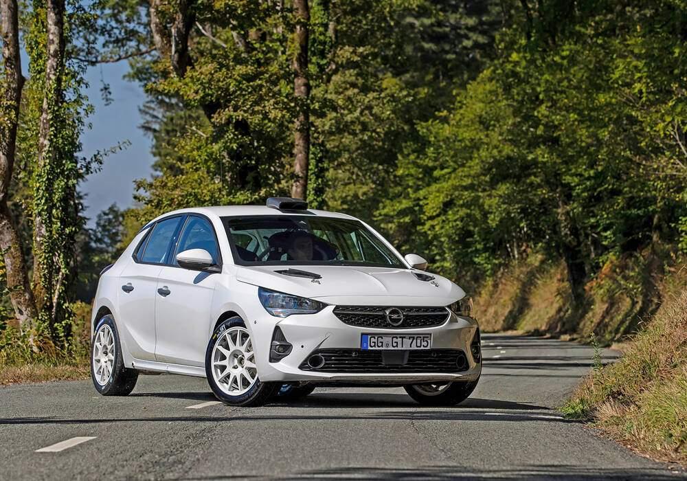 Fiche technique Opel Corsa Rally4 (2020)