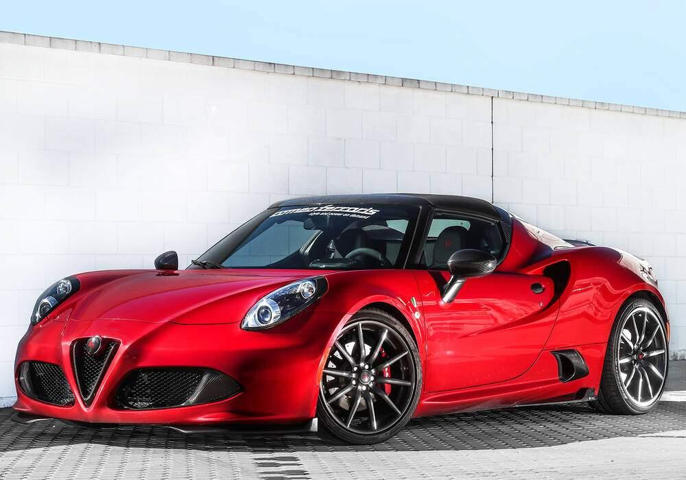 Fiche technique Romeo Ferraris 4C Spider (2017)