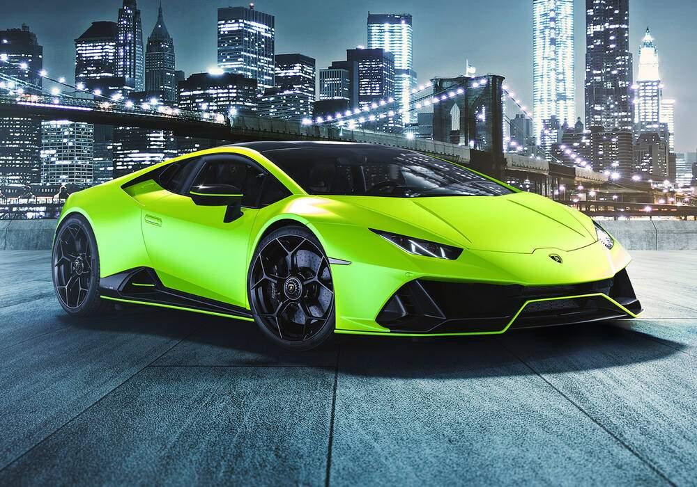Fiche technique Lamborghini Huracán EVO « Fluo Capsule » (2020)