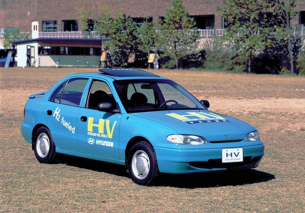 Fiche technique Hyundai Accent HV Concept (1995)