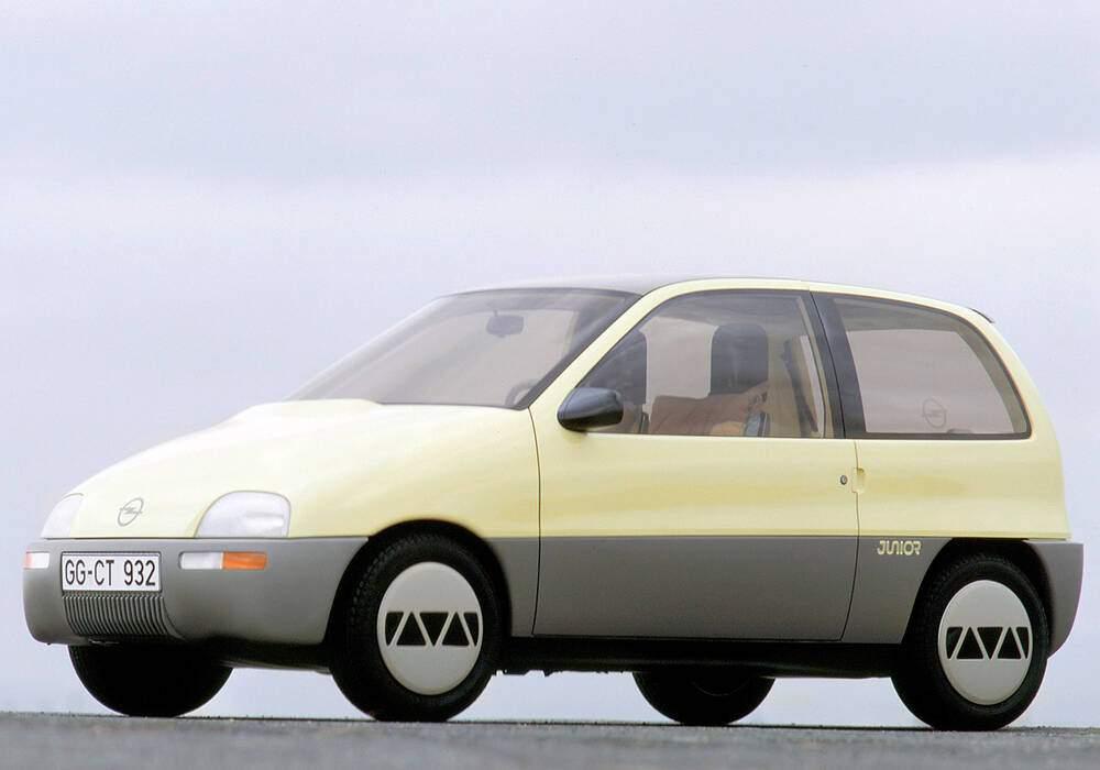 Fiche technique Opel Junior Concept (1983)