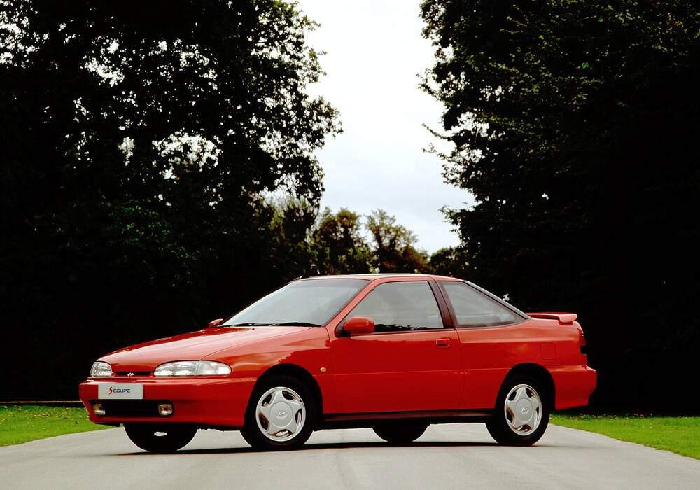 Fiche technique Hyundai S-Coupé GT (1993-1996)