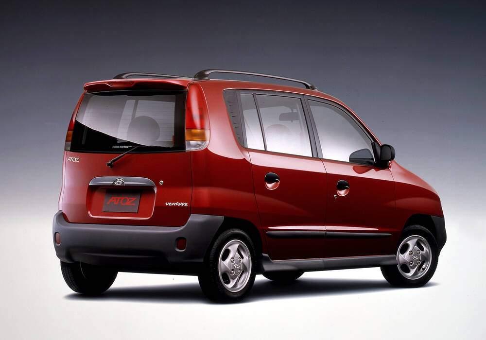 Fiche technique Hyundai Atoz 1.0 (1997-2001)