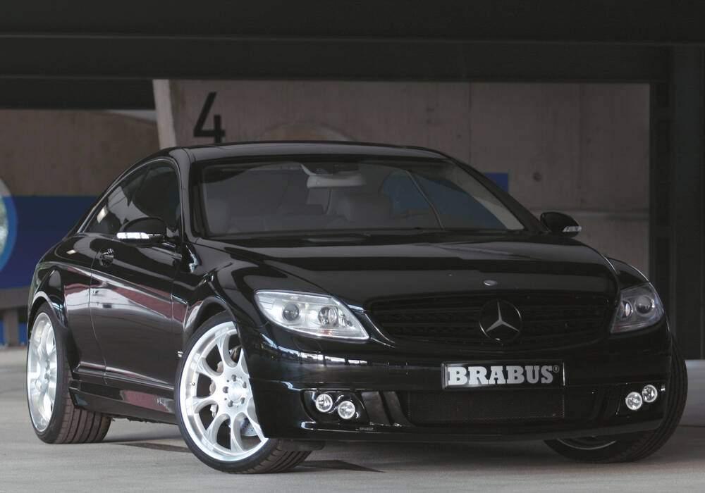 Fiche technique Brabus CL 500 (2007-2010)