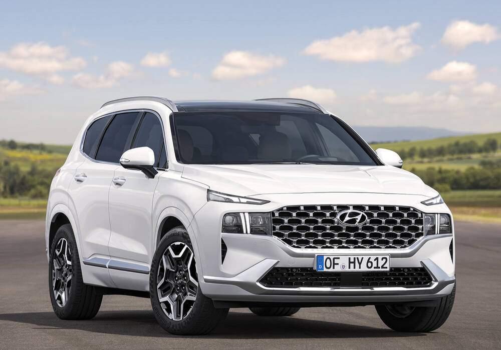 Fiche technique Hyundai Santa Fe IV Hybrid (TM) (2020)