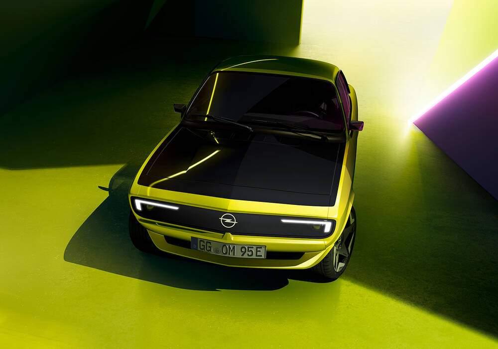 Fiche technique Opel Manta GSe ElektroMOD (2021)