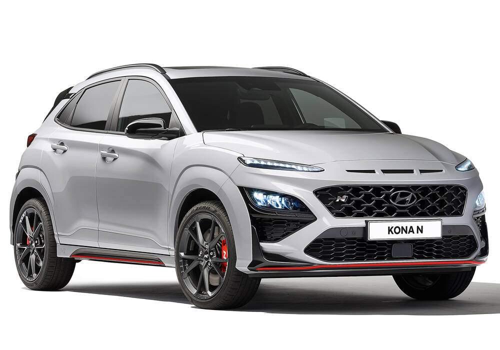 Fiche technique Hyundai Kona N (OS) (2021)
