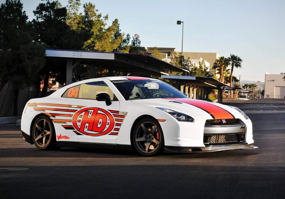Fiche technique HD Motorsports GT-R (2012)