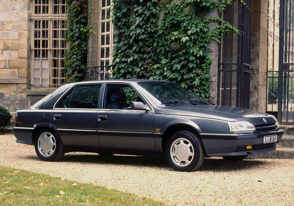 Fiche technique Renault 25 2.0 100 « Camargue » (1989)