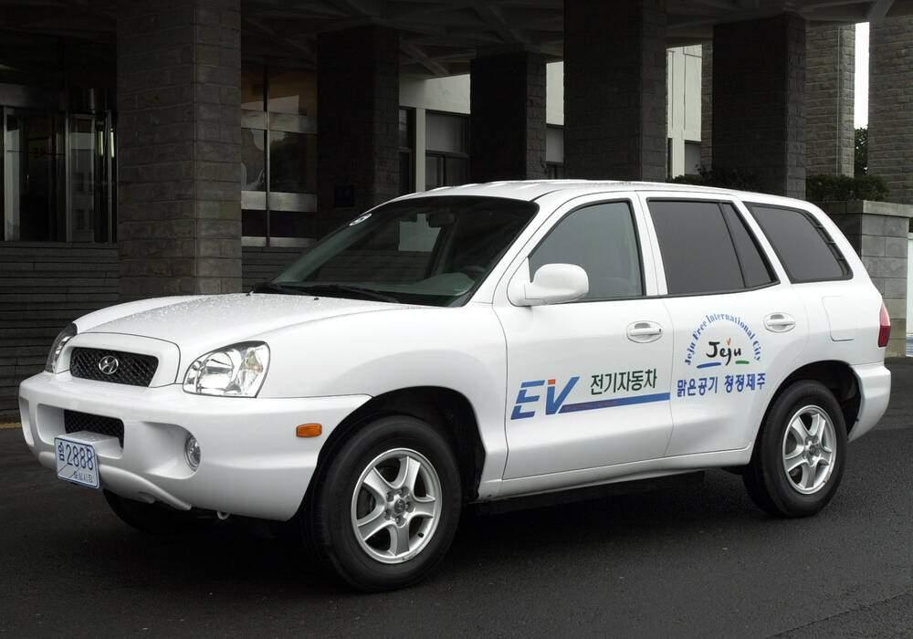 Fiche technique Hyundai Santa Fe FCEV Concept (2000)