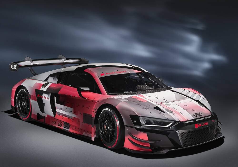 Fiche technique Audi R8 LMS GT3 Evo II (2022)