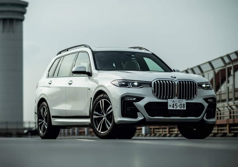 Fiche technique BMW X7 xDrive40d (G07) (2020)