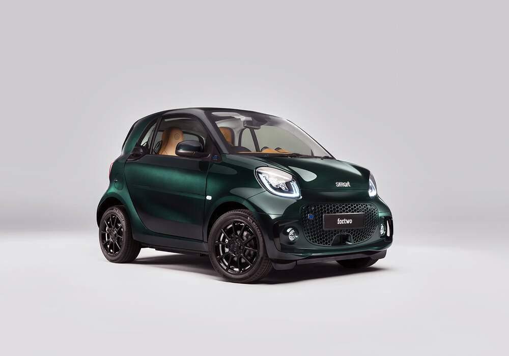 Fiche technique Smart Fortwo III EQ (W453) « Racing Green Edition » (2021)