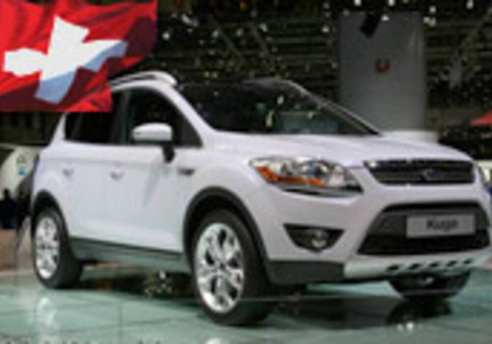 Genève Direct : Kuga, le crossover de Ford
