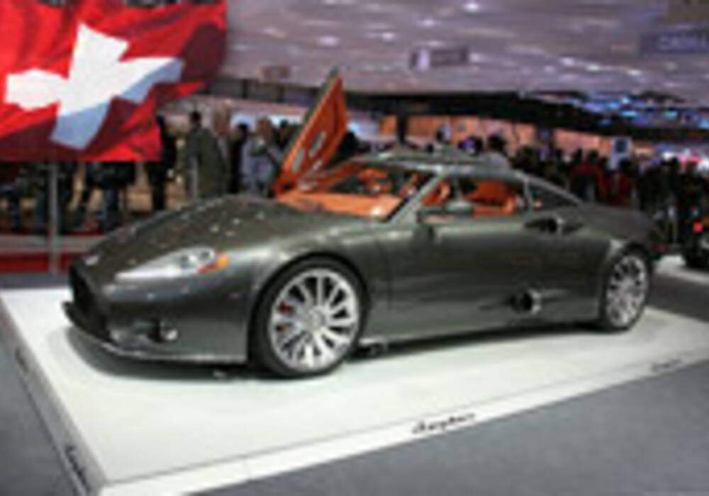 Genève Direct : Spyker C8 Aileron