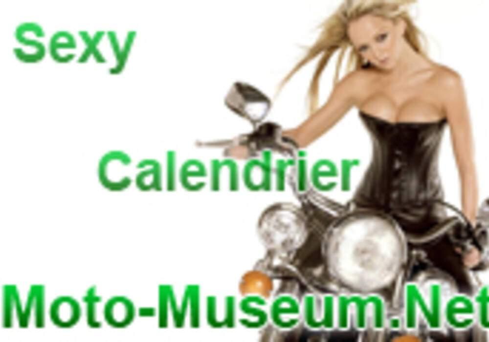 Calendrier 2008 : Les Sexy Girls de Moto-Museum
