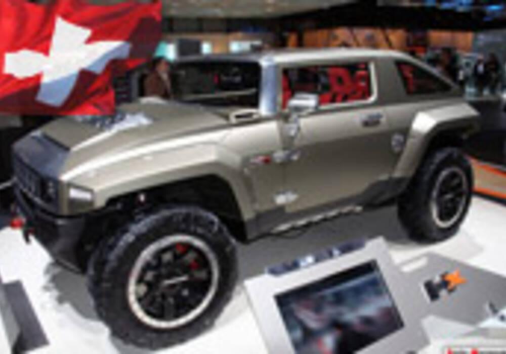 Genève Direct : Hummer HX Concept