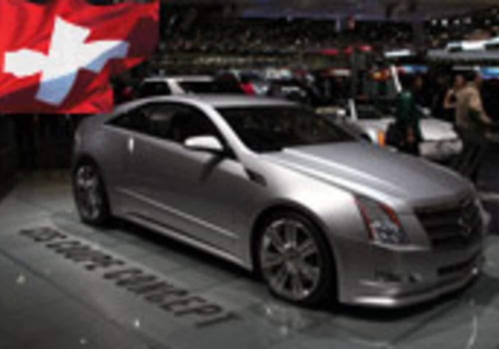 Genève Direct : Cadillac CTS Coupé Concept
