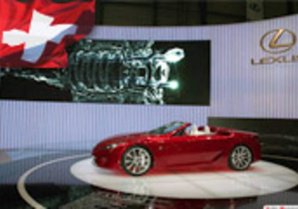 Genève Direct : Lexus LF-A Roadster Concept