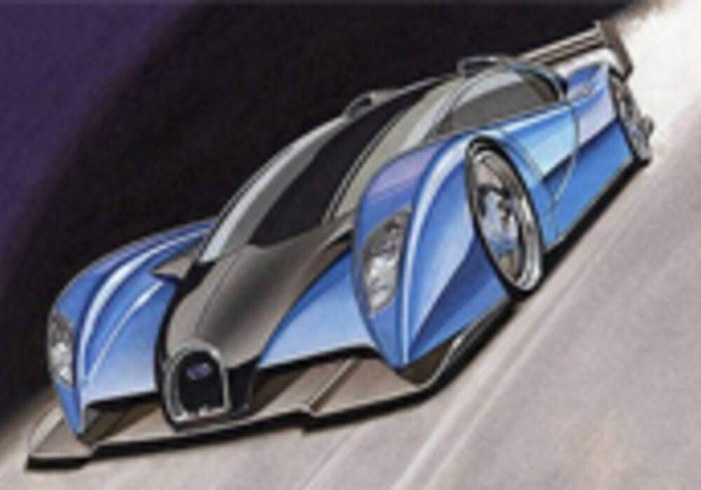 La Bugatti Lydia, une future barquette surpuissante