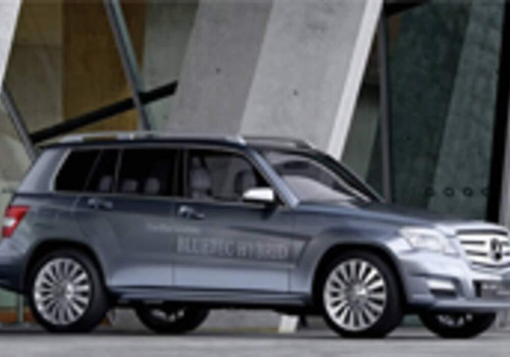Mercedes GLK Bluetec... Hybride !