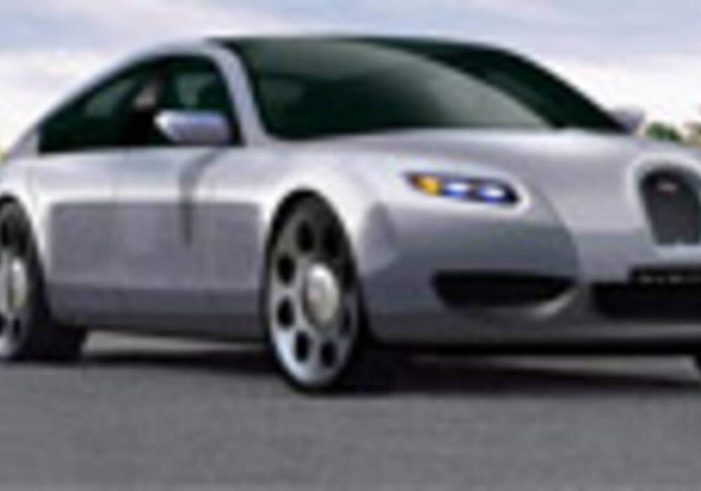 """Bugatti abandonne son projet """"Lydia"""" pour une limousine."""