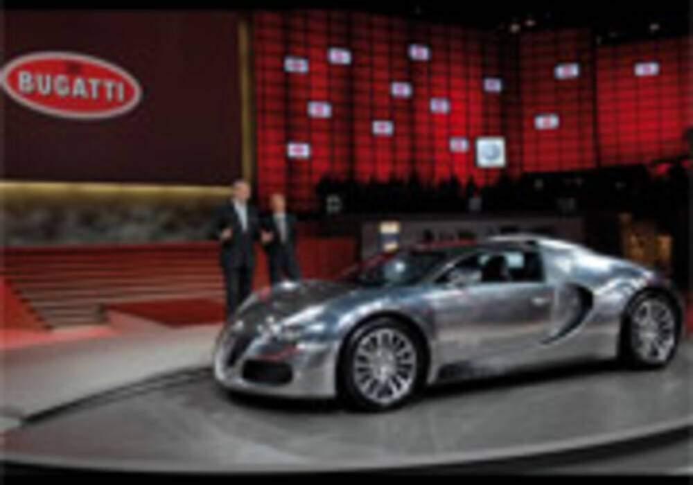 Une Bugatti Veyron Pure Sang aux enchères