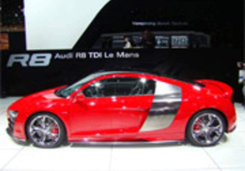 Audi R8 TDI Le Mans Concept en photos