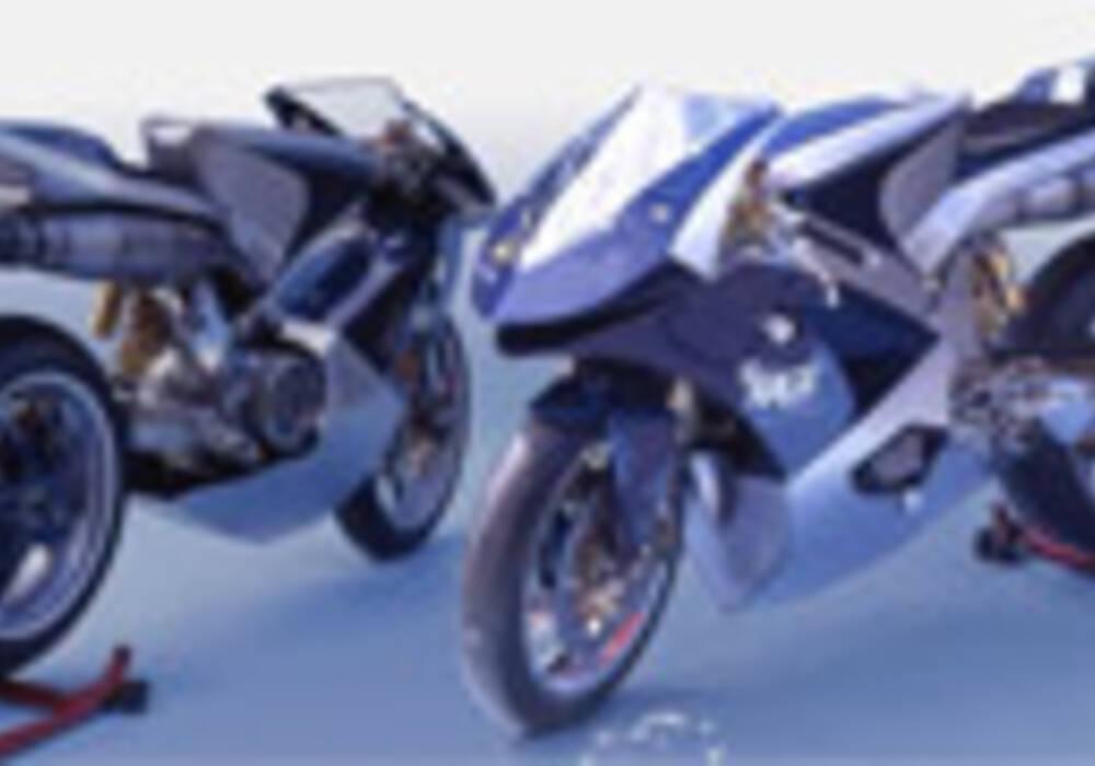 Histoire : Un essai, une innovation de la moto de course, la BLUE RAGE