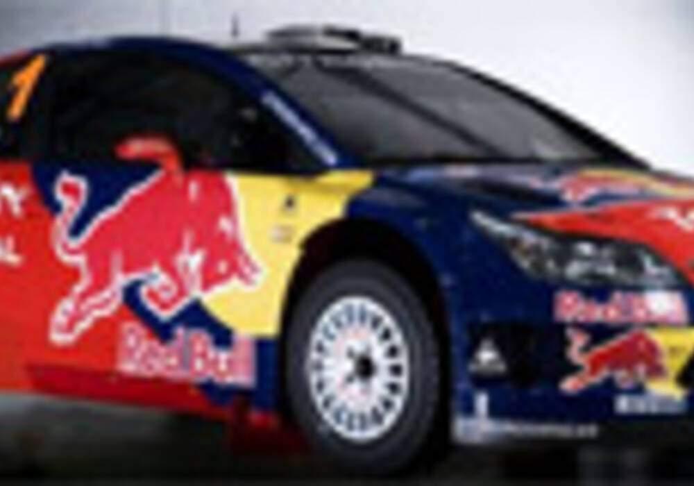La Citroën C4 WRC sort les cornes de RedBull