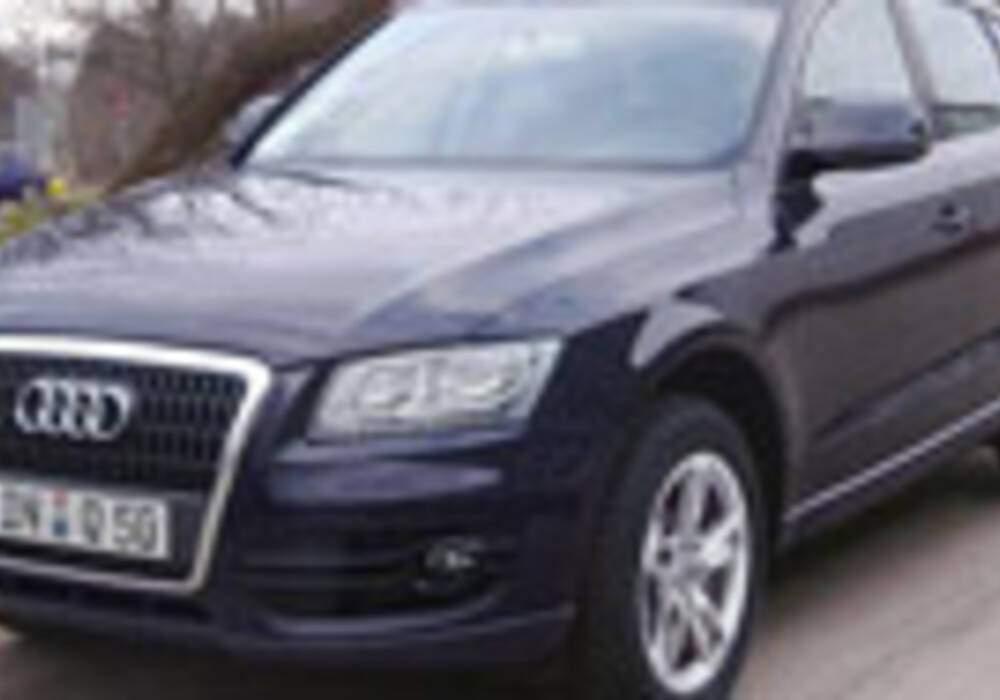 L'Audi Q5 se dévoile déjà sur la route et sur un microsite