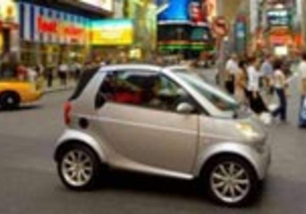 La Smart séduit les États-Unis bien au delà des espérances de GM