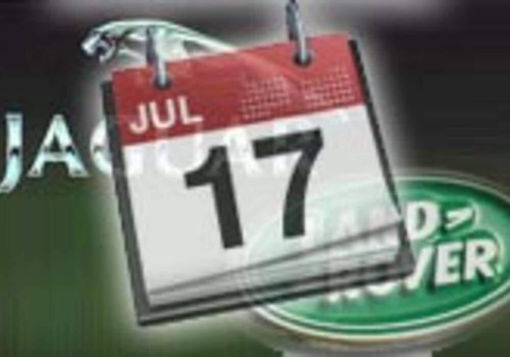 Le calendrier des productions Jaguar et Land Rover