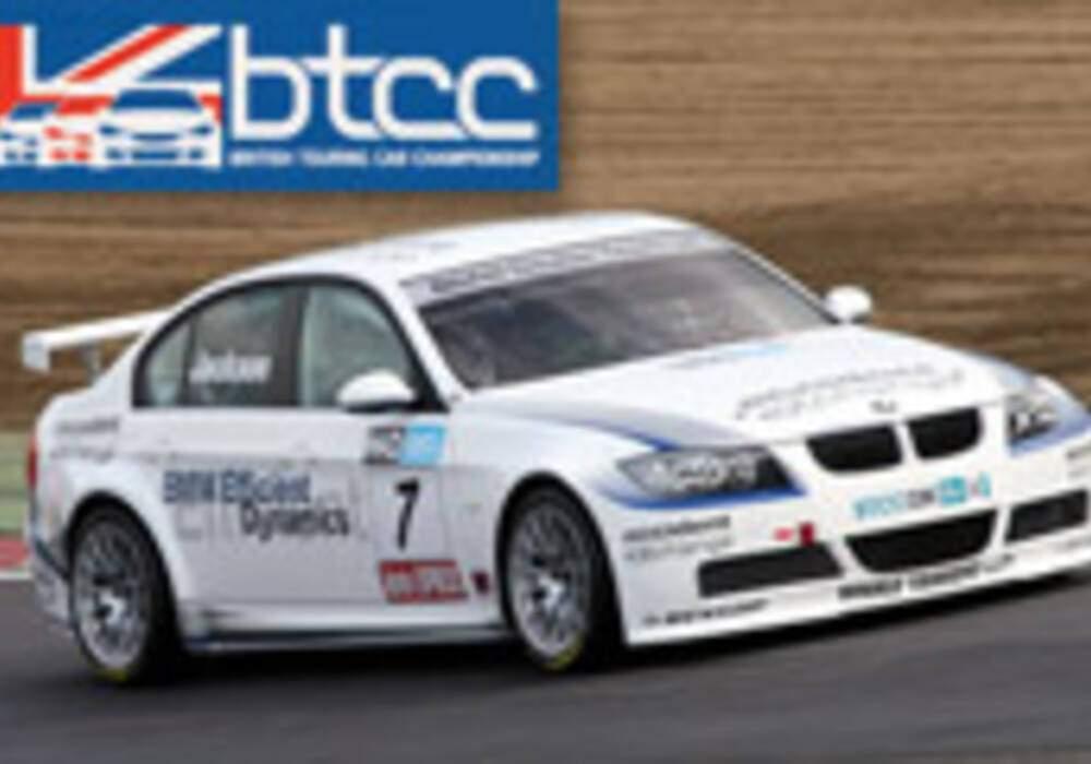 BTCC: Jackson en pôle à Brands Hatch!