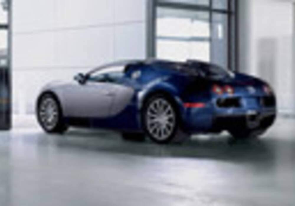 Augmentation de la production annuelle de la Bugatti Veyron