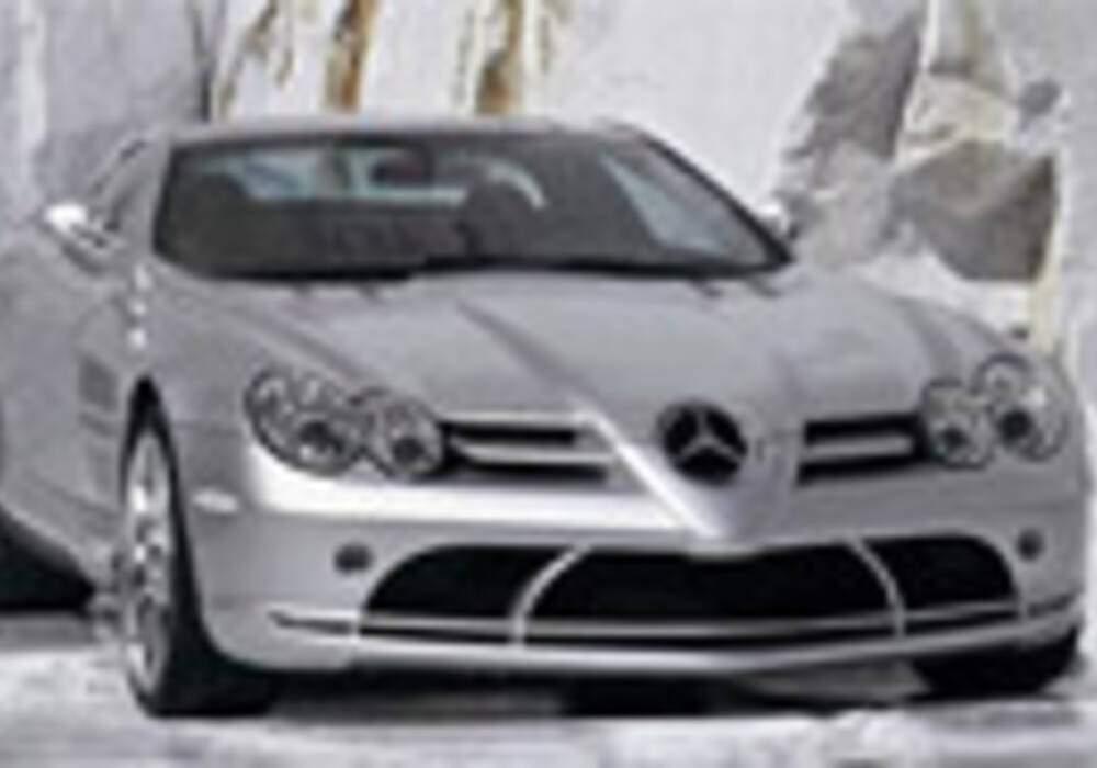 La production de la Mercedes SLR cessera l'an prochain