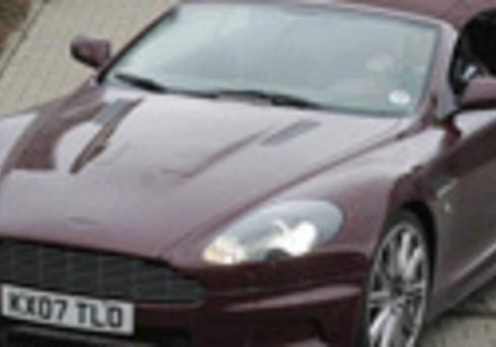 Spyshots Aston Martin DBS Volante