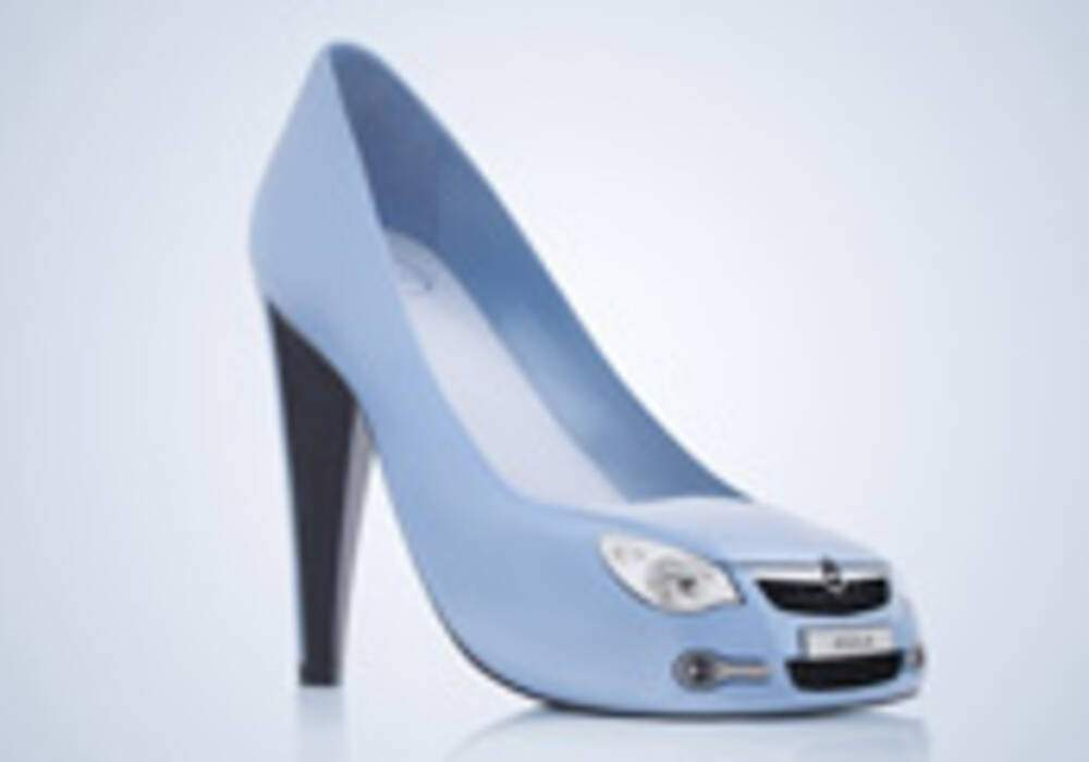 Opel au pied