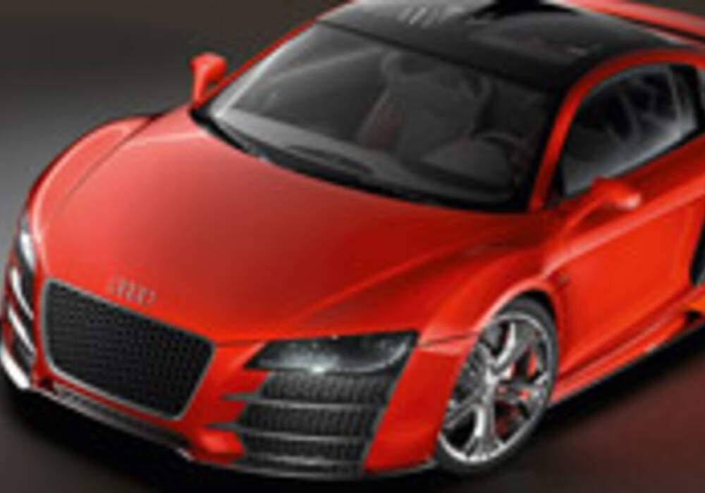 Audi R8 V12 TDI, enregistrement sonore du moteur