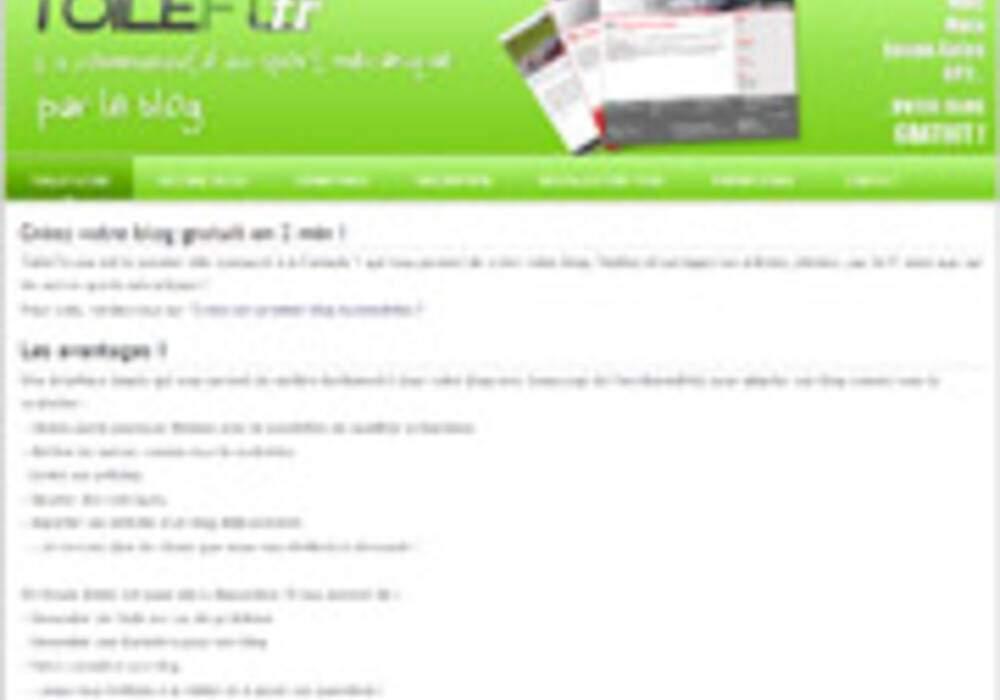 Créer rapidement votre blog auto