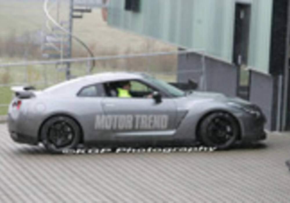 Spyshots : Nissan GT-R V-Spec