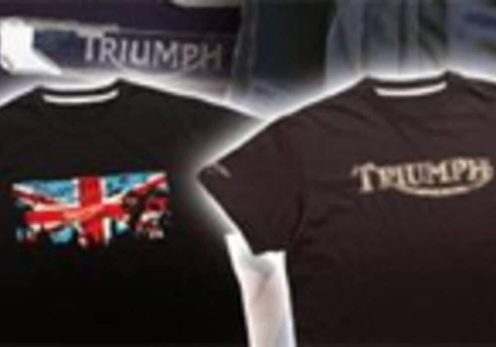Triumph lance sa nouvelle gamme de t-shirt